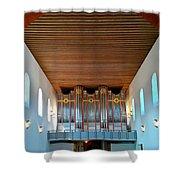 Ingelheim Organ Shower Curtain