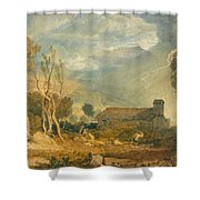 Ingleborough From Chapel-le-dale Shower Curtain