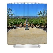 Inglenook Vineyard -3 Shower Curtain