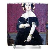 Ingres' Madame Moitessier Shower Curtain