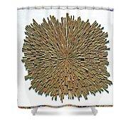 Inhale Exhale Shower Curtain