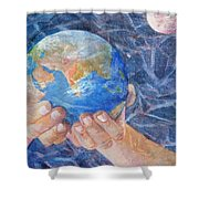 Inherit The Earth Shower Curtain