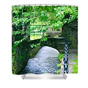 Inistioge Park Shower Curtain