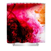 Ink Bath 6 Shower Curtain