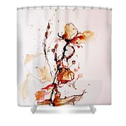 Ink_r1 Shower Curtain