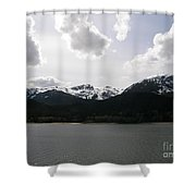 Inland Passage Shower Curtain