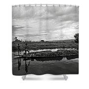 Inle Lake In Burma Shower Curtain