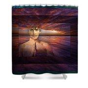 Inner Bliss Shower Curtain