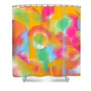 Inner Circle  Shower Curtain