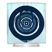 Inner Circles Shower Curtain