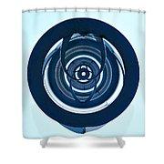 Inner Circles Shower Curtain