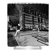 Inner City Cycling  Shower Curtain