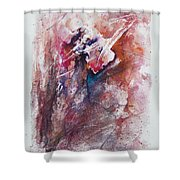 Inner Conflict Shower Curtain