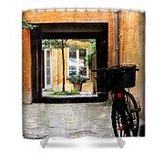 Inner Courtyard Shower Curtain