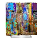Inner Forces Shower Curtain