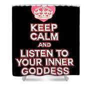 Inner Goddess Shower Curtain