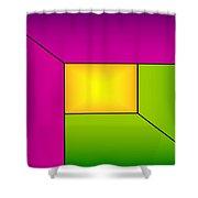 Inner Light 1 Shower Curtain