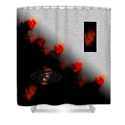 Inner Passion Digital Oil Painting Shower Curtain