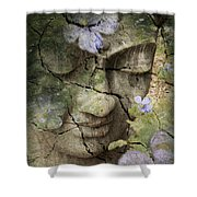 Inner Tranquility Shower Curtain by Christopher Beikmann