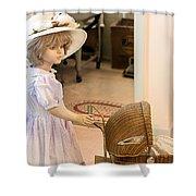 Innocence Shower Curtain by Gunter Nezhoda