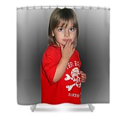Innocent Or Guilty? Shower Curtain