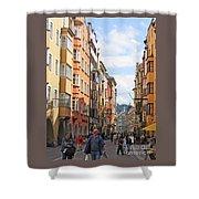 Innsbruck Color Shower Curtain