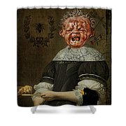 Insectophobia Shower Curtain