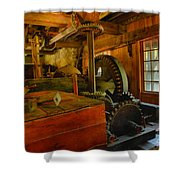 Inside A Grist Mill Shower Curtain