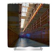 Inside Alcatraz Shower Curtain