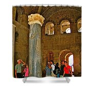 Inside Church Of Saint Nicholas In Myra-turkey Shower Curtain