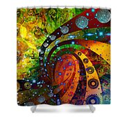Inside Consciousness  Shower Curtain