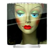 Inside Looking Out Limited Edition Shower Curtain