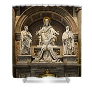 Inside St Peters Basiclica - Vatican Rome Shower Curtain