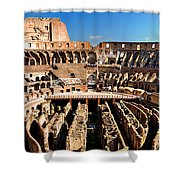 Inside The Colosseum Shower Curtain