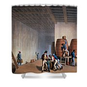 Inside The Distillery, From Ten Views Shower Curtain