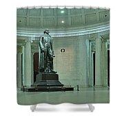 Inside The Jefferson Memorial Shower Curtain