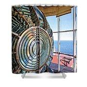 Inside The Lighthouse Shower Curtain