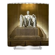 Inside The Lincoln Memorial Shower Curtain