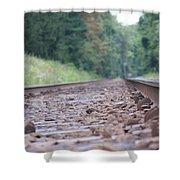 Inside The Rails Shower Curtain
