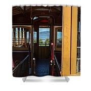 Inside Trolley 28 Shower Curtain