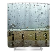 Inside Warmth Shower Curtain