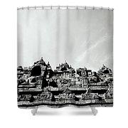 Inspiration At Borobudur Shower Curtain