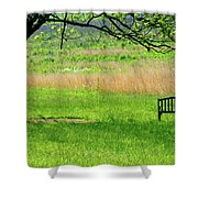 Inspiration - Color Shower Curtain