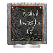 Inspirational Chalkboard-b2 Shower Curtain