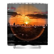 Inspirational--summer Day On A Winters Night Shower Curtain