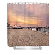 Inspirational Theater Old Orchard Beach  Shower Curtain