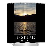 Inspire Shower Curtain
