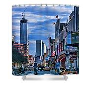 Inspiring Chelsea Shower Curtain