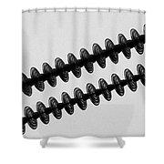 Insulators Bw Shower Curtain
