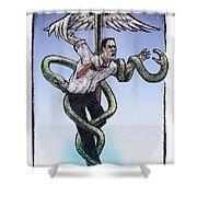 Insurance Shower Curtain